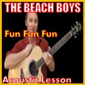 learn to play fun fun fun by the beach boys