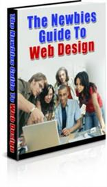 the newbies guide to web design with master resale rights
