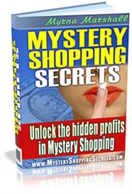 mystery shopping secrets - get paid to shop! with master resale rights
