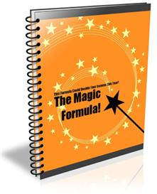 The Magic Formula With Master Resale Rights | eBooks | Business and Money