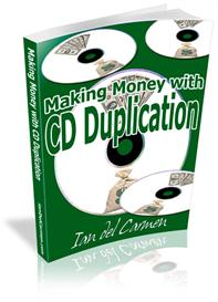 making money with cd duplication with master resale rights
