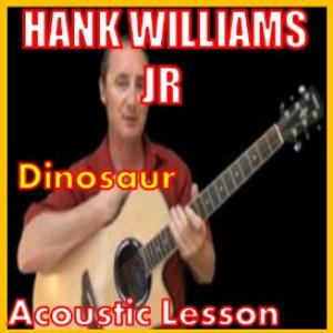 learn to play dinosaur by hank williams jr