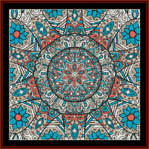Fractal 505 cross stitch pattern by Cross Stitch Collectibles | Crafting | Cross-Stitch | Wall Hangings