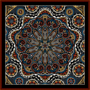 Fractal 506 cross stitch pattern by Cross Stitch Collectibles | Crafting | Cross-Stitch | Wall Hangings