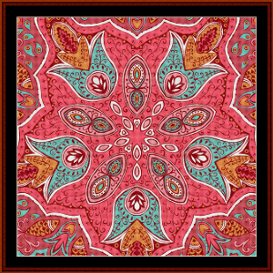 Fractal 509 cross stitch pattern by Cross Stitch Collectibles   Crafting   Cross-Stitch   Wall Hangings