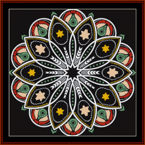 First Additional product image for - Fractal 513 cross stitch pattern by Cross Stitch Collectibles