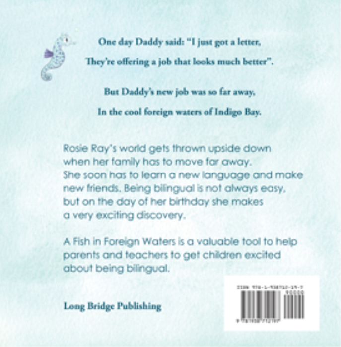 First Additional product image for - A Fish in Foreign Waters: a Book for Bilingual Children
