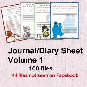 diary sheet volume 1