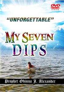 """unforgettable"" my seven dips."