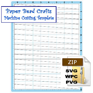 paper bead machine cutting template to make 5/8