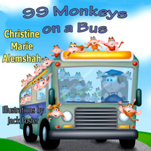 99 monkeys on a bus