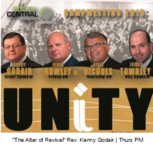 the altar of revival - rev. kenny godair