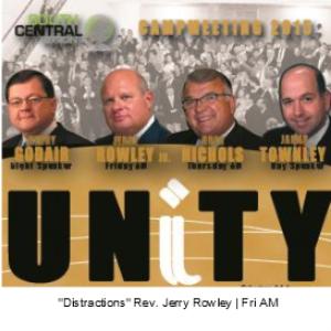 distractions - rev. jerry rowley