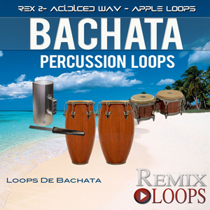 bachata percussion loops