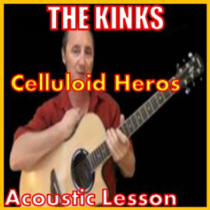 Learn to play Celluloid Heros by The Kinks | Movies and Videos | Educational