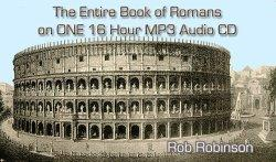 the entire book of romans on one 16 hour audiobook