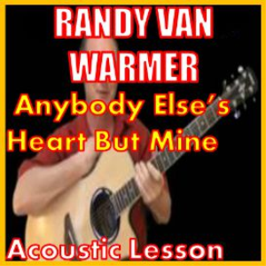learn to play anyone else's heart but mine by rvw