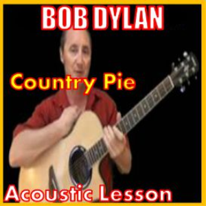 learn to play country pie by bob dylan