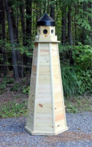 5 Ft. Treated Lawn Lighthouse Plans | eBooks | Home and Garden