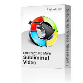 Subliminal Video Messages I Love You Warrior Warm Up VI 6 | Movies and Videos | Special Interest