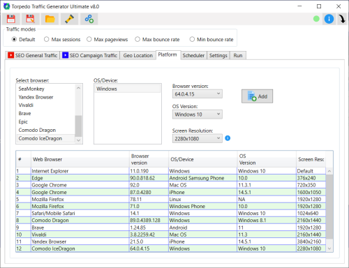 First Additional product image for - Torpedo Website Traffic Generator (WAT) Ultimate V8.1
