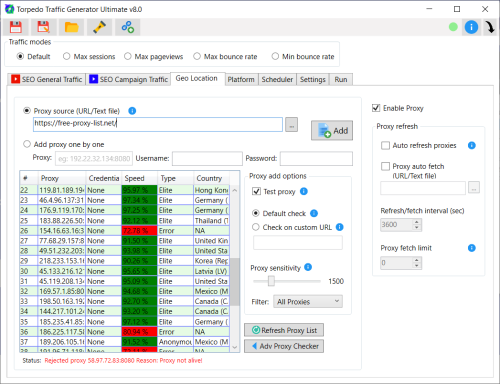 Second Additional product image for - Torpedo Website Traffic Generator (WAT) Ultimate V8.1