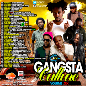 dj roy gangsta culture mix vol.6