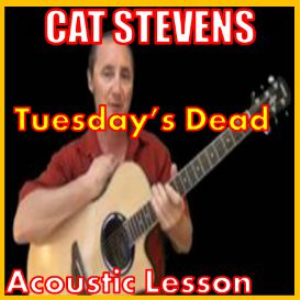 learn to play tuesdays dead by cat stevens