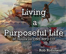 living a purposeful life on one 20 hour mp3 audiobook