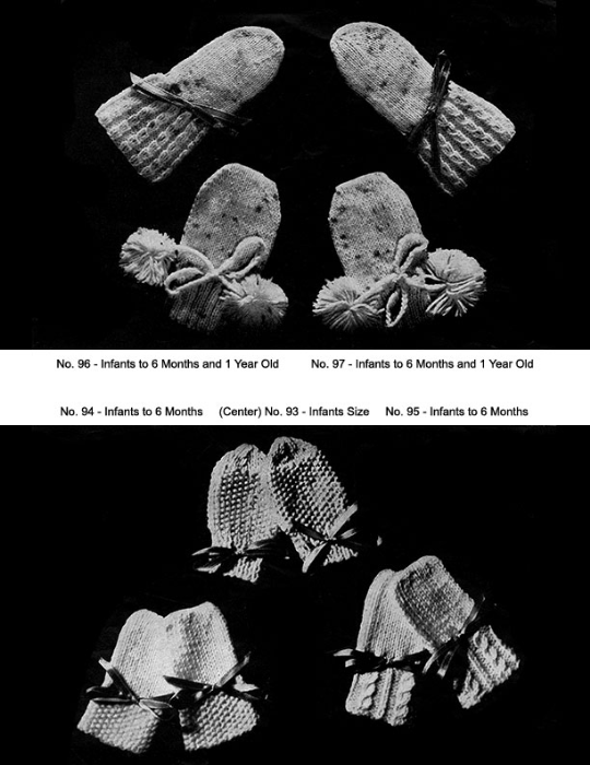 First Additional product image for - Two Needle Mittens   Volume 91   Doreen Knitting Books DIGITALLY RESTORED PDF