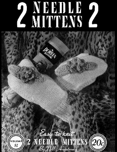 two needle mittens | volume 91 | doreen knitting books digitally restored pdf