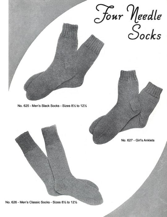 Second Additional product image for - Mittens Gloves Socks   Volume 99   Doreen Knitting Books DIGITALLY RESTORED PDF
