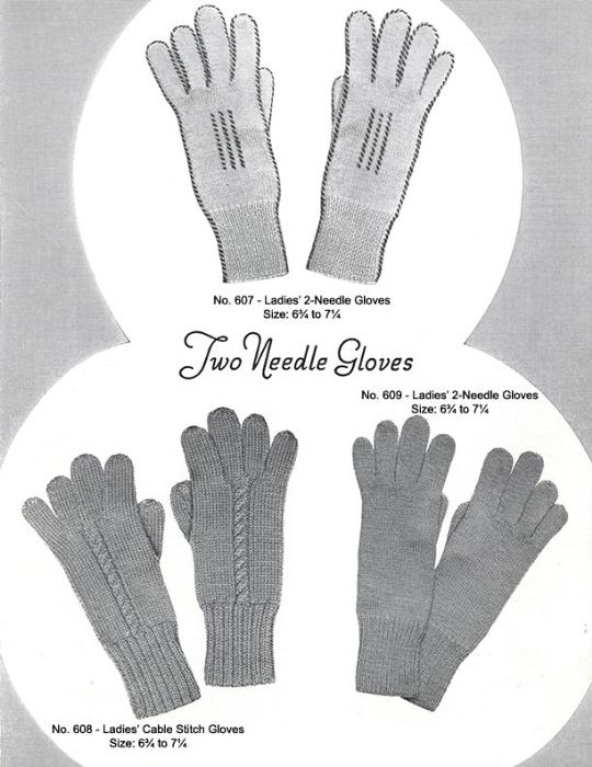 Third Additional product image for - Mittens Gloves Socks   Volume 99   Doreen Knitting Books DIGITALLY RESTORED PDF