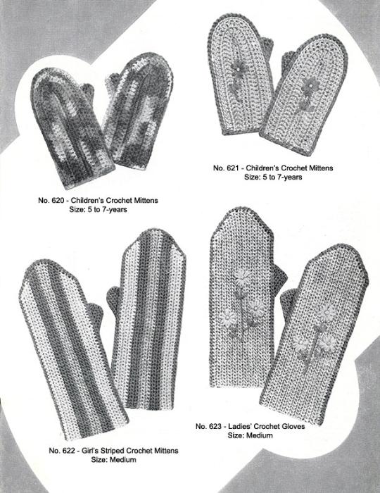Fourth Additional product image for - Mittens Gloves Socks   Volume 99   Doreen Knitting Books DIGITALLY RESTORED PDF
