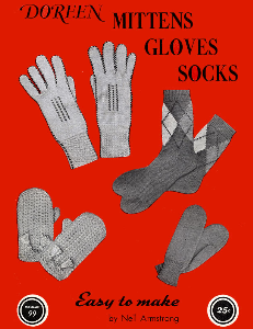 mittens gloves socks | volume 99 | doreen knitting books digitally restored pdf