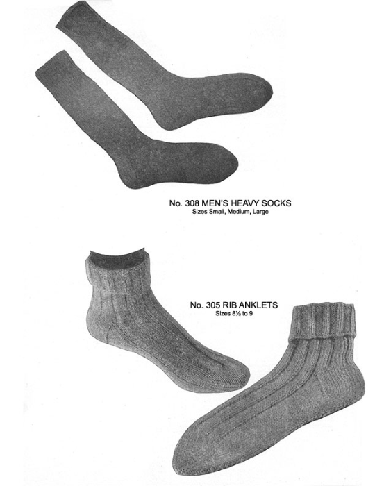 Second Additional product image for - Two Needle Socks   Volume 93   Doreen Knitting Books DIGITALLY RESTORED PDF
