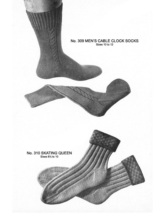 Fourth Additional product image for - Two Needle Socks | Volume 93 | Doreen Knitting Books DIGITALLY RESTORED PDF