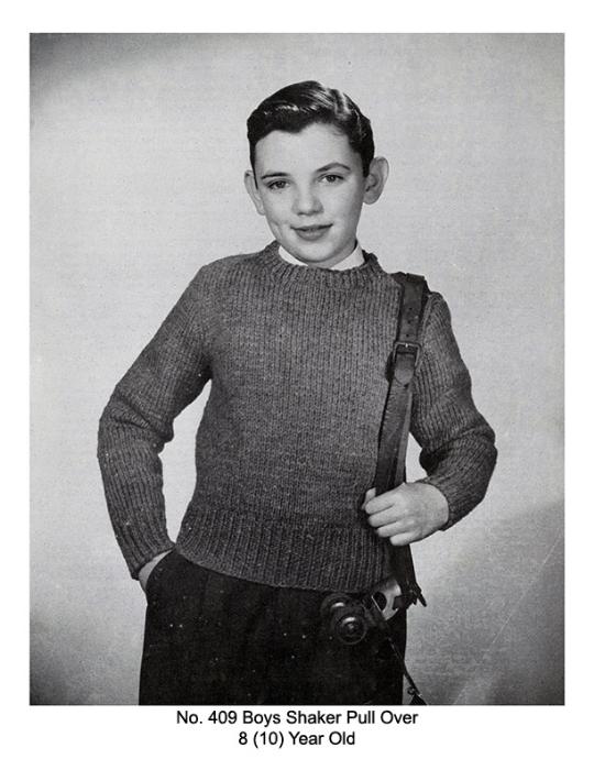 Fourth Additional product image for - Children's Book | Volume 94 | Doreen Knitting Books DIGITALLY RESTORED PDF