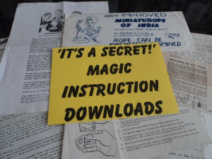 Jumbo Card Rise: Joseph Fenichel Professional Magical Apparaties | Documents and Forms | Manuals