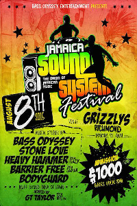 jamaica sound system festival 2015 vol 02 of 05 (ft. bodyguard, stone love, barrier free, black scorpio, down beat)