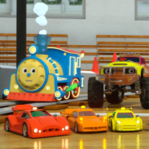 learn colors with max the glow train