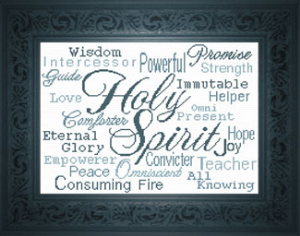 Holy Spirit | Crafting | Cross-Stitch | Religious