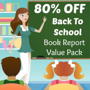 back to school value pack: 28 book report projects/14 free gifts