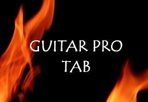 canon rock acoustic (guitar pro)