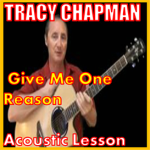 learn to play give me one reason by tracy chapman