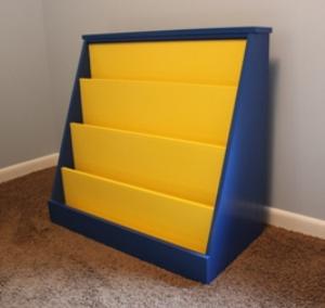 kids bookshelf plans