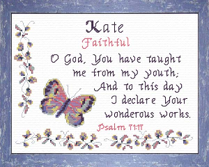 name blessings -  kate