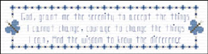serenity prayer bookmark