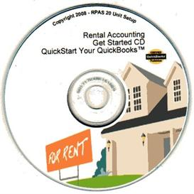 get started setup - rental accounting