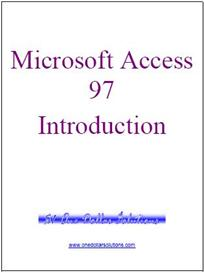 microsoft access 97 introduction